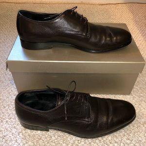 Giorgio Armani Men's Brown Dress Shoes